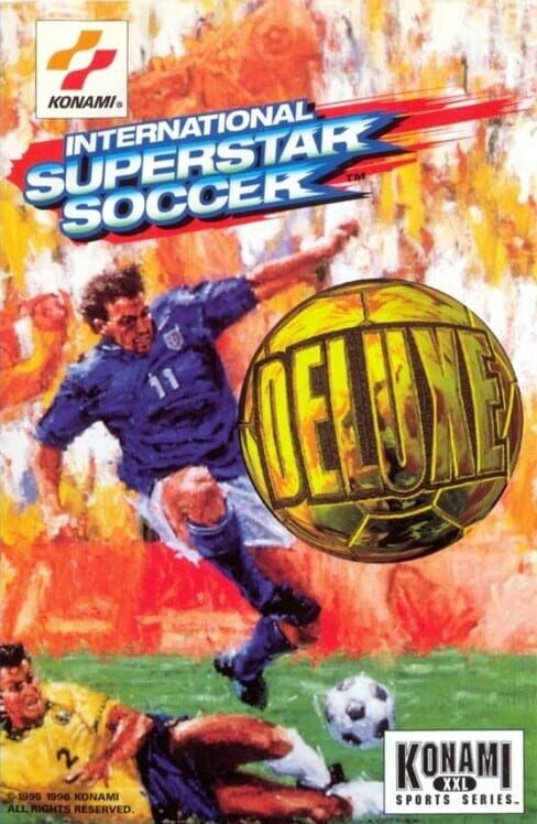 International Superstar Soccer Deluxe image