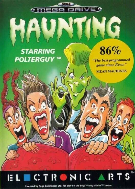 Haunting starring Polterguy Display Picture
