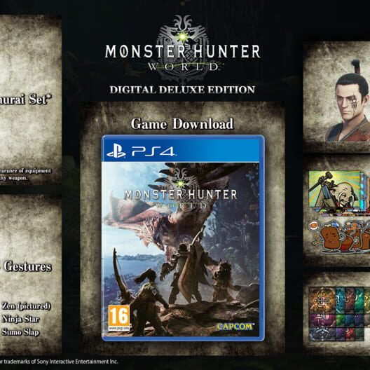 Countdown To Monster Hunter World Digital Deluxe Edition