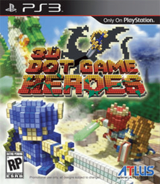 3D Dot Game Heroes for PlayStation 3