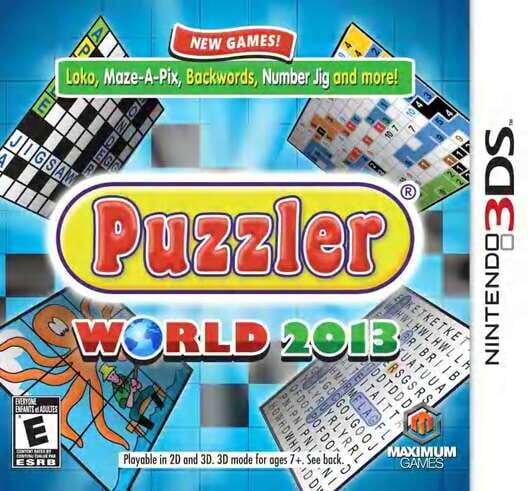 Puzzler World 2013 Display Picture