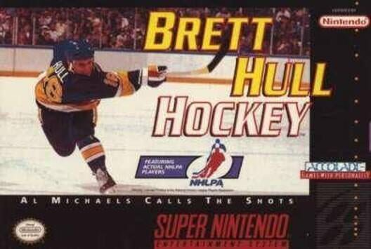 Brett Hull Hockey Display Picture