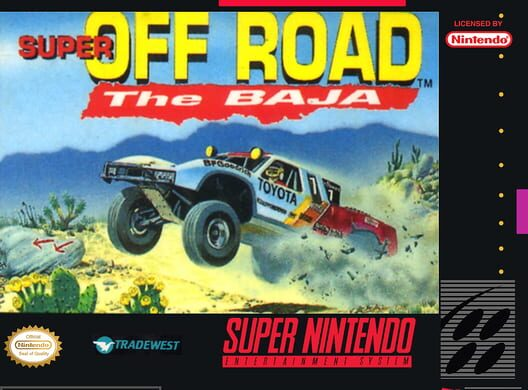 Super Off Road: The Baja Display Picture