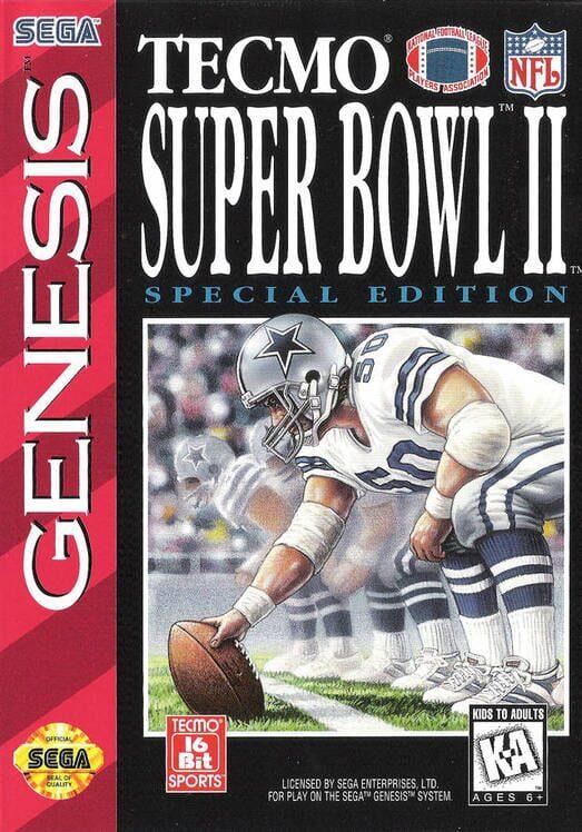 Tecmo Super Bowl II: Special Edition image