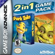 2 in 1 Game Pack: DreamWorks' Shark Tale + Shrek 2