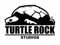 Logo of Turtle Rock Studios