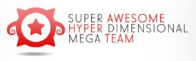Logo of Super Awesome Hyper Dimensional Mega Team