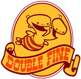 Logo of Double Fine Productions