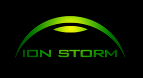 Logo of Ion Storm