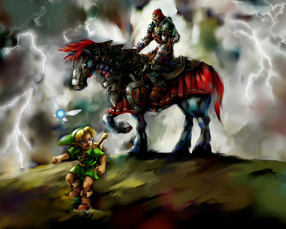 The Legend of Zelda: Ocarina of Time 3D - Press Kit