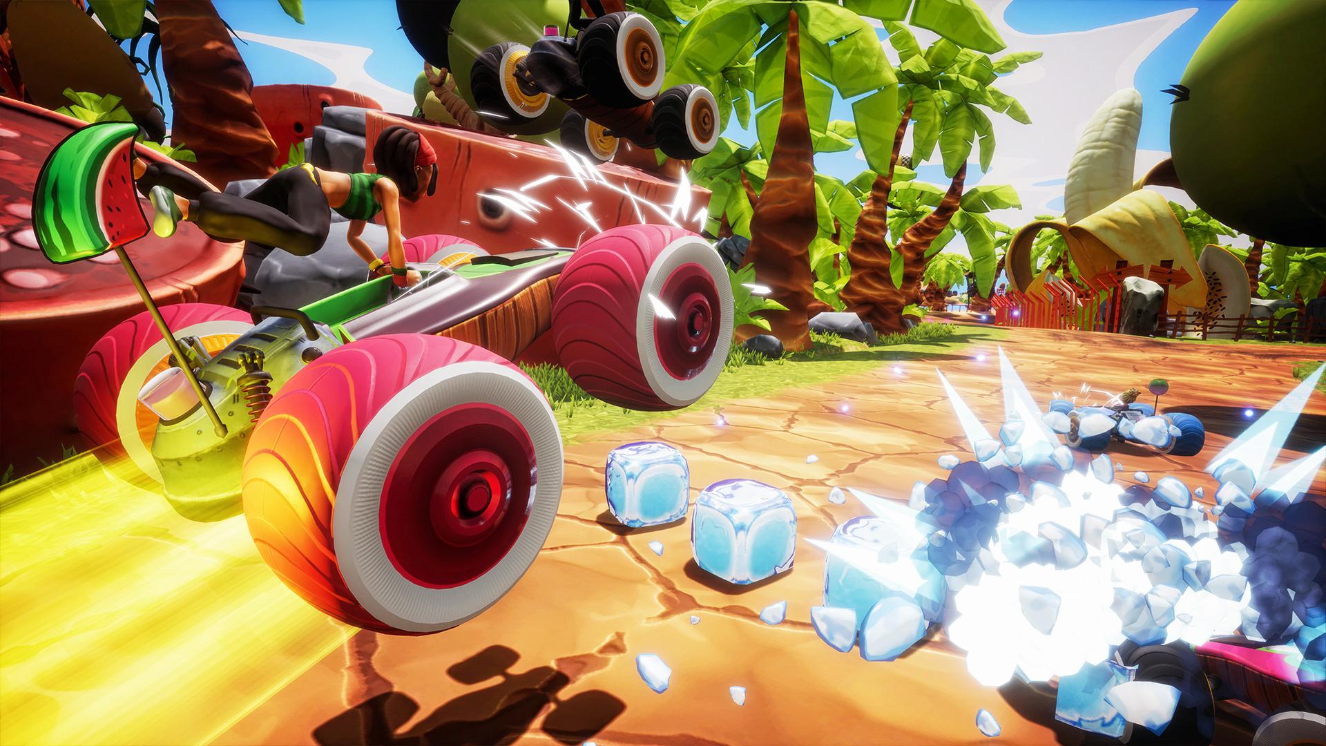 All-Star Fruit Racing al prezzo di un caffè su Nintendo E-Shop! 2