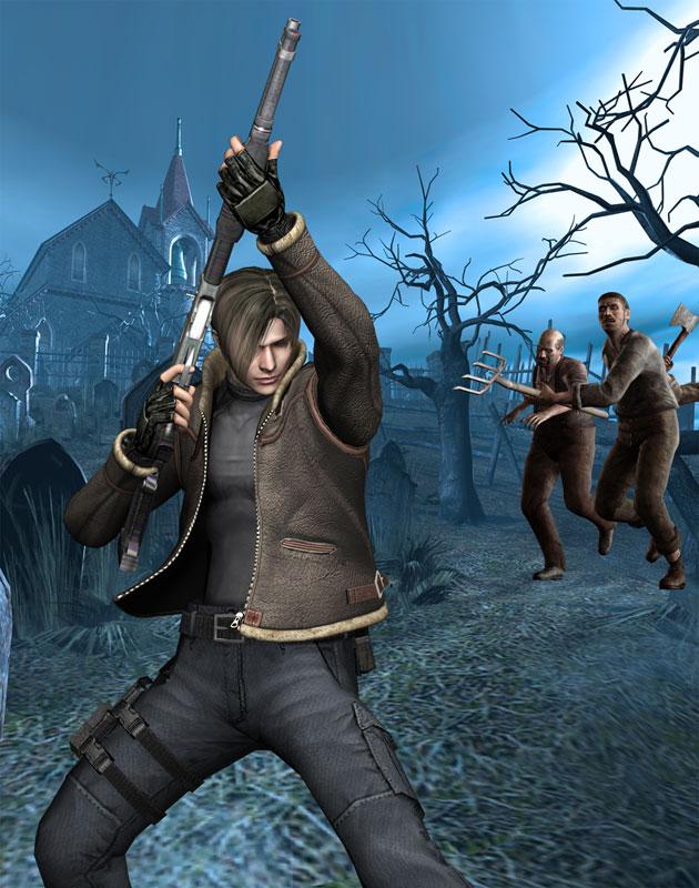 Resident Evil 4 Press Kit