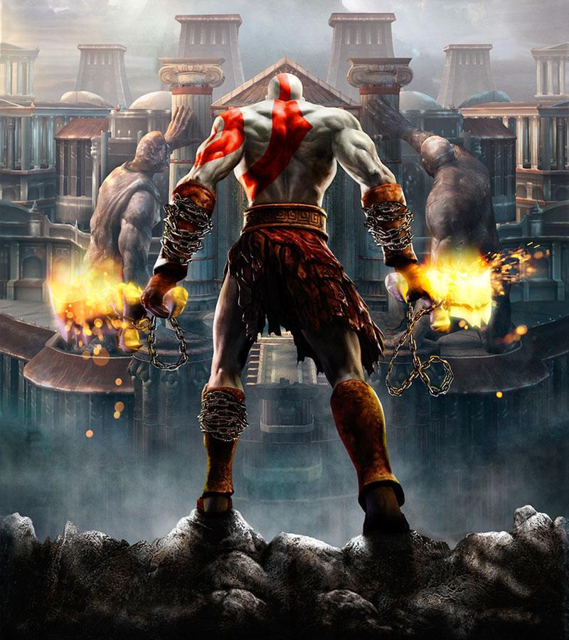 Kratos God Of War 2 Wallpaper