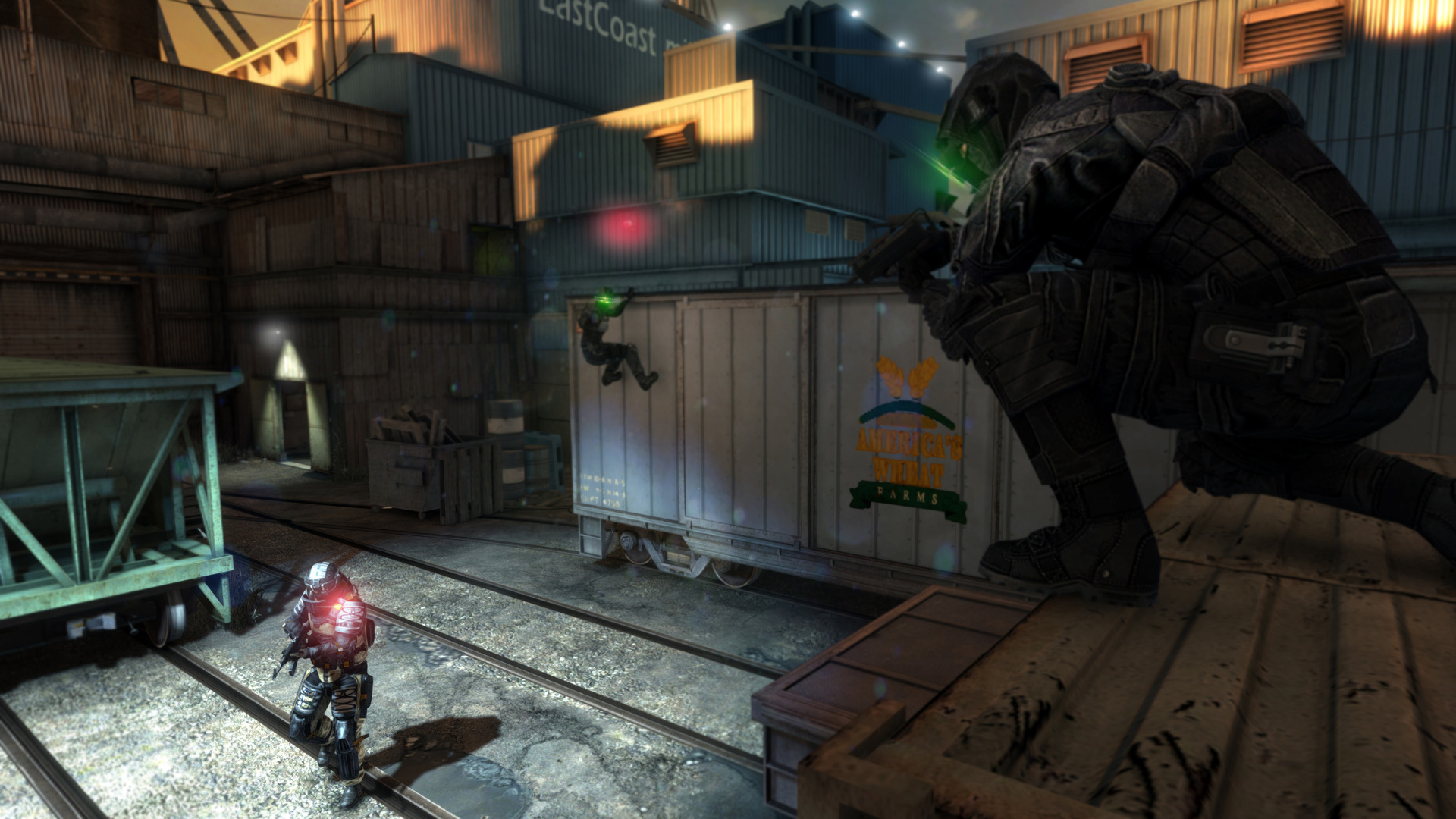 Image from old Splinter Cell game