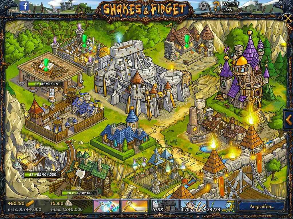 Shakes And Fidget Festung