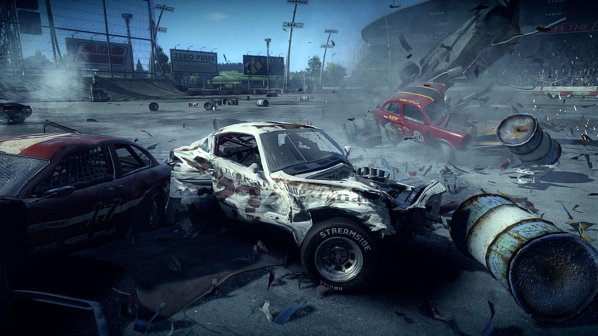 Wreckfest car wreck