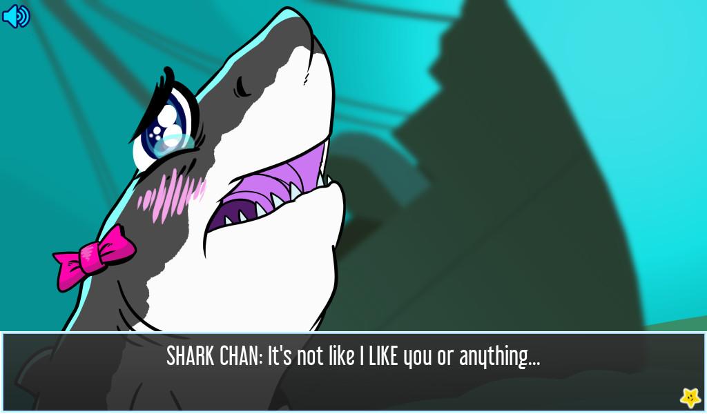 Shark dating simulator xl naked sex