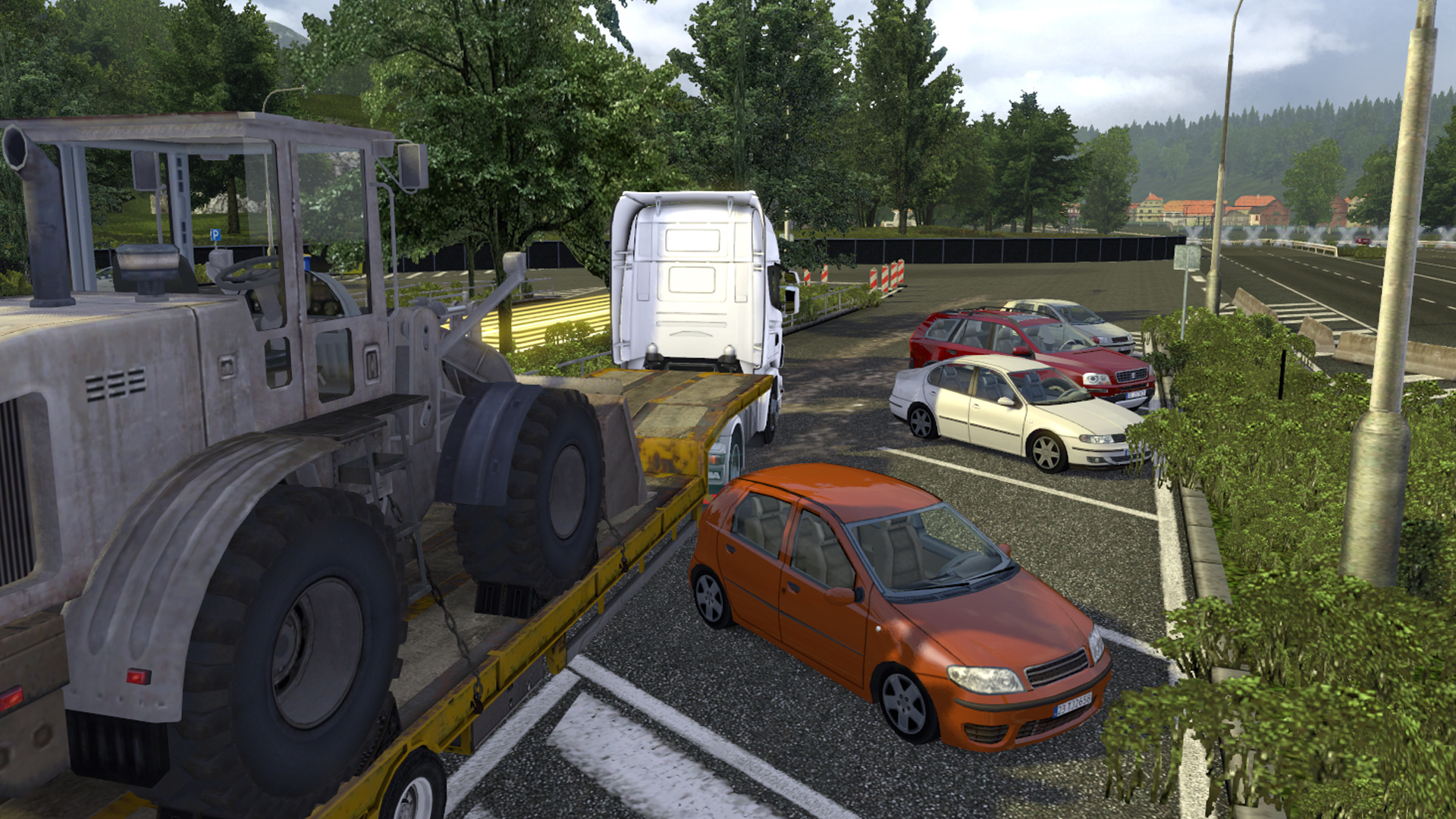 Download game truck and trailer full