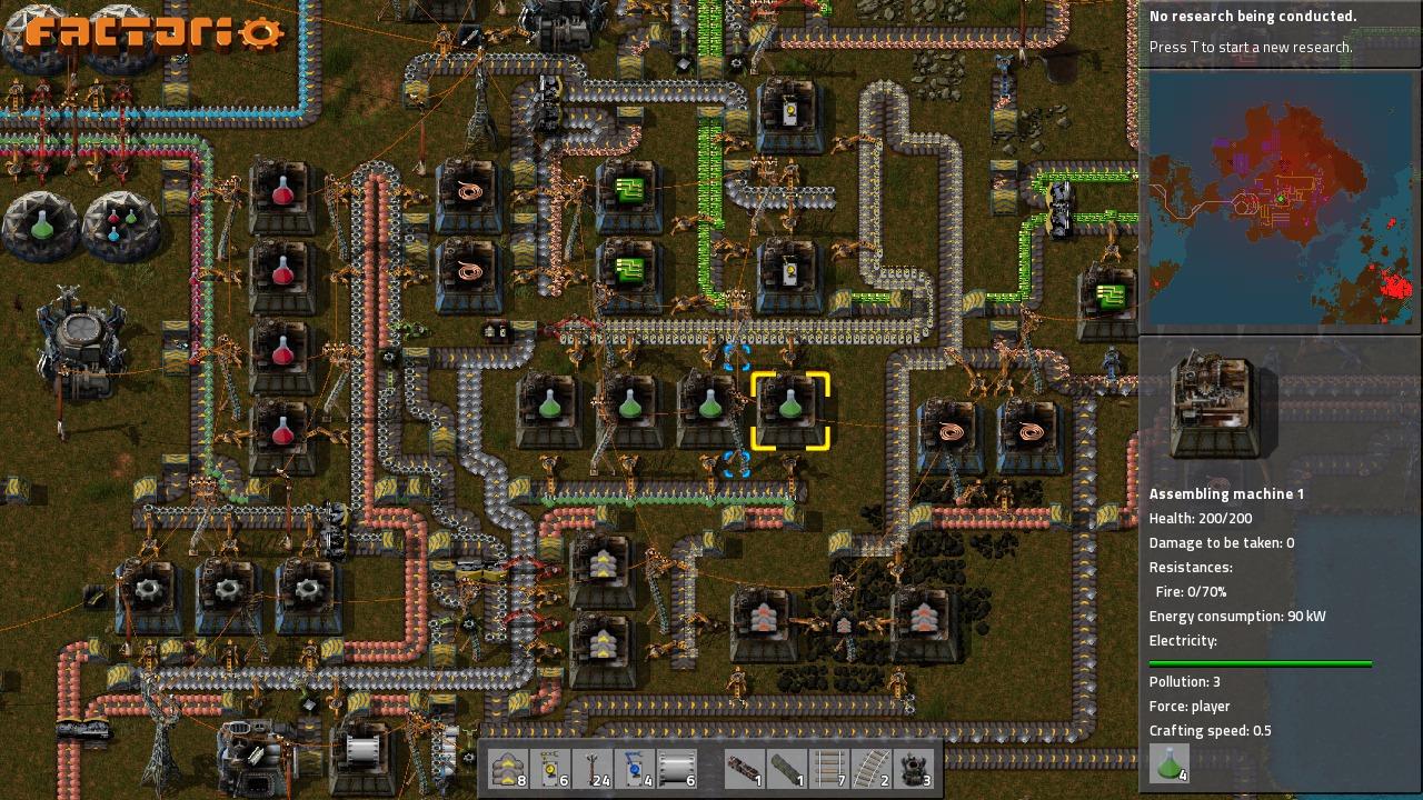 Factorio Coding Game