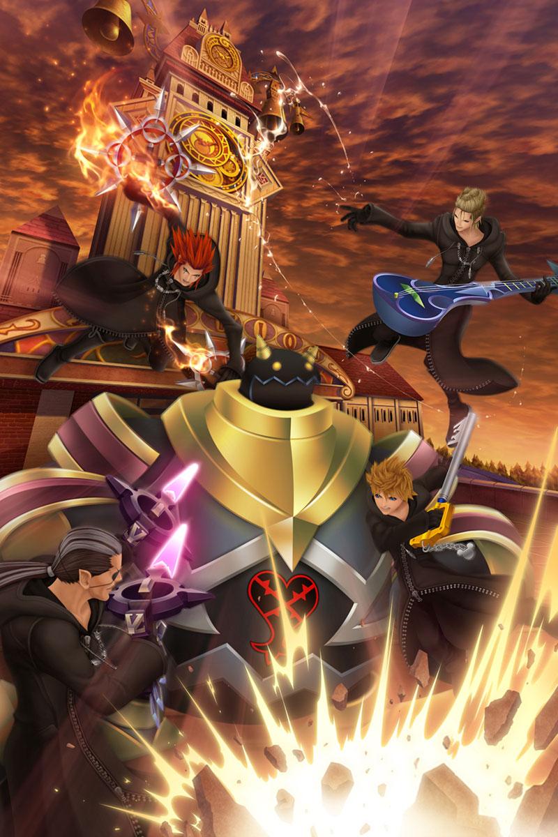 Kingdom Hearts 358 2 Days Press Kit