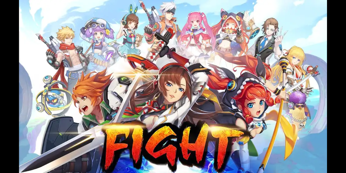 Blade and Wings: Future Fantasy 3D Anime MMORPG Game - Press Kit