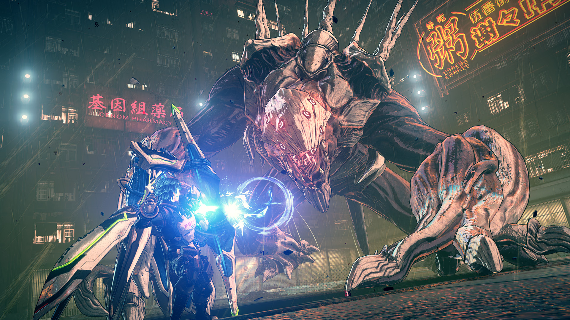 Image result for astral chain 1920x1080 press