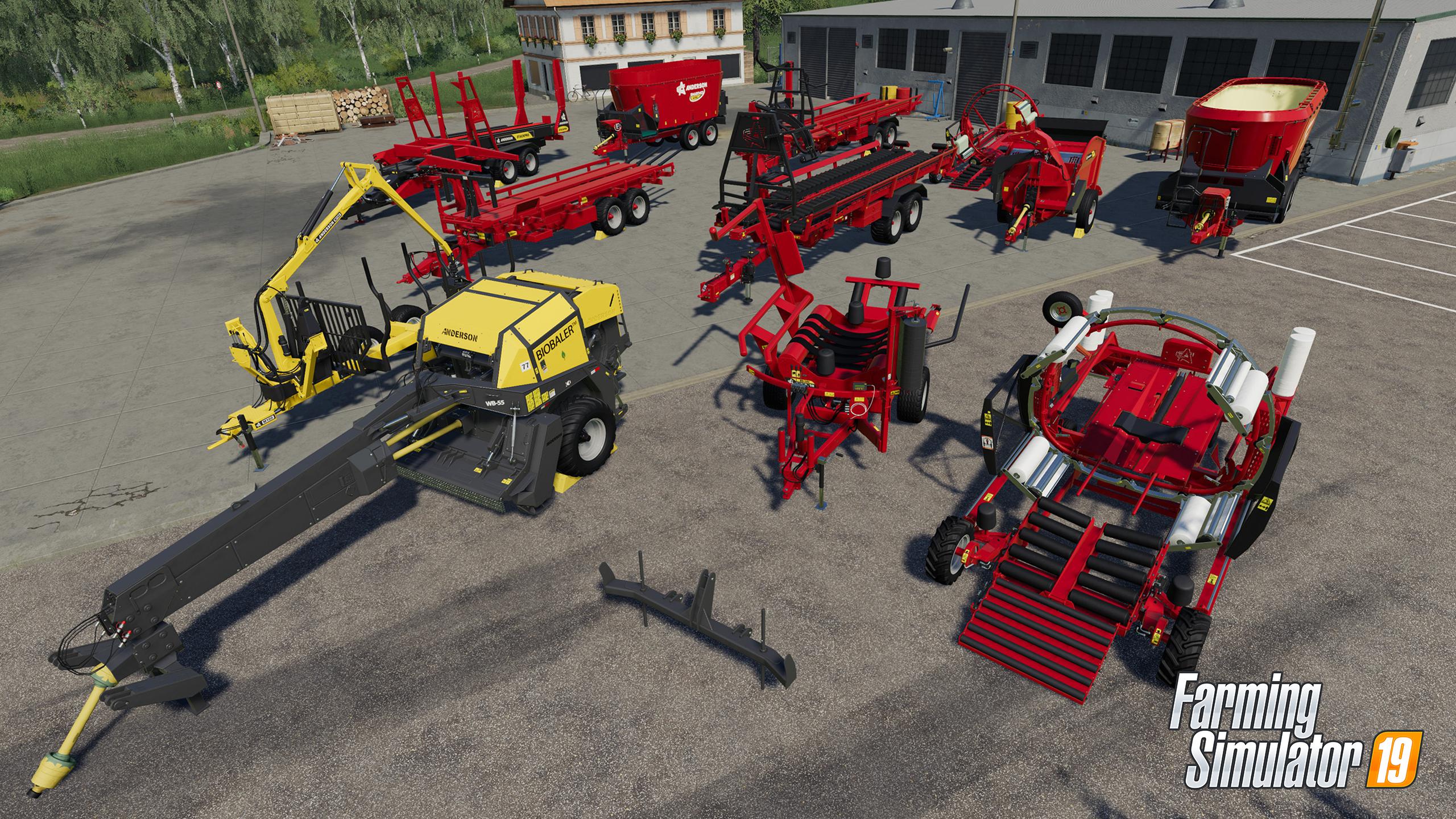Farming Simulator 19 - Anderson Group - Respawners