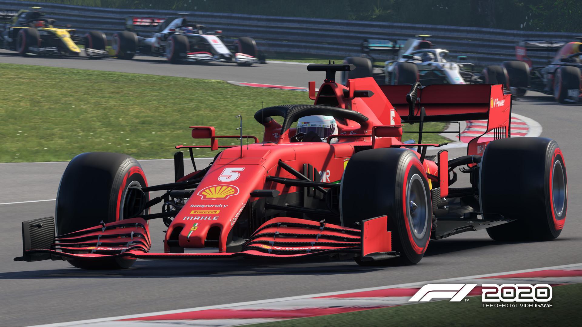 F1: 2020 cover art
