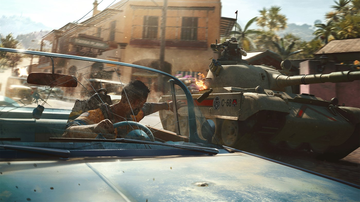 Image of Vehicle Combat From Far Cry 6