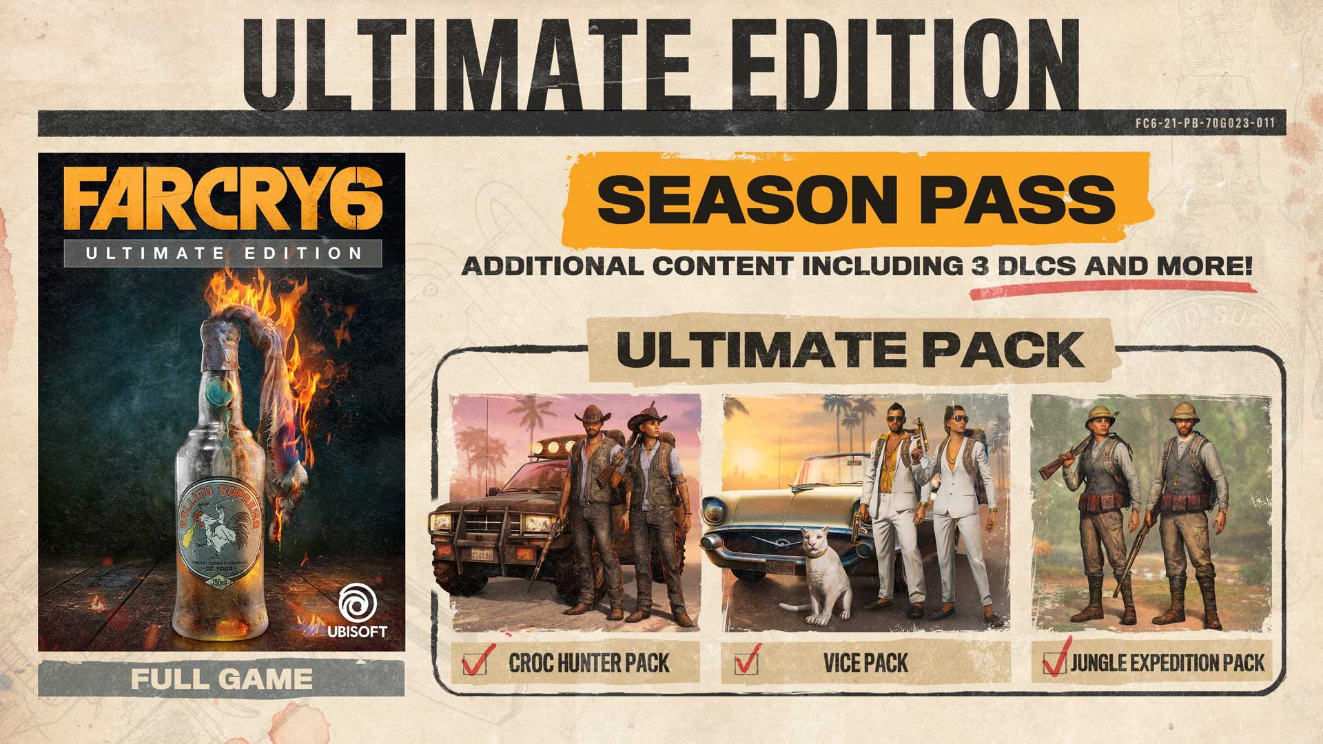 Image of Season Pass and DLCs from Far Cry 6
