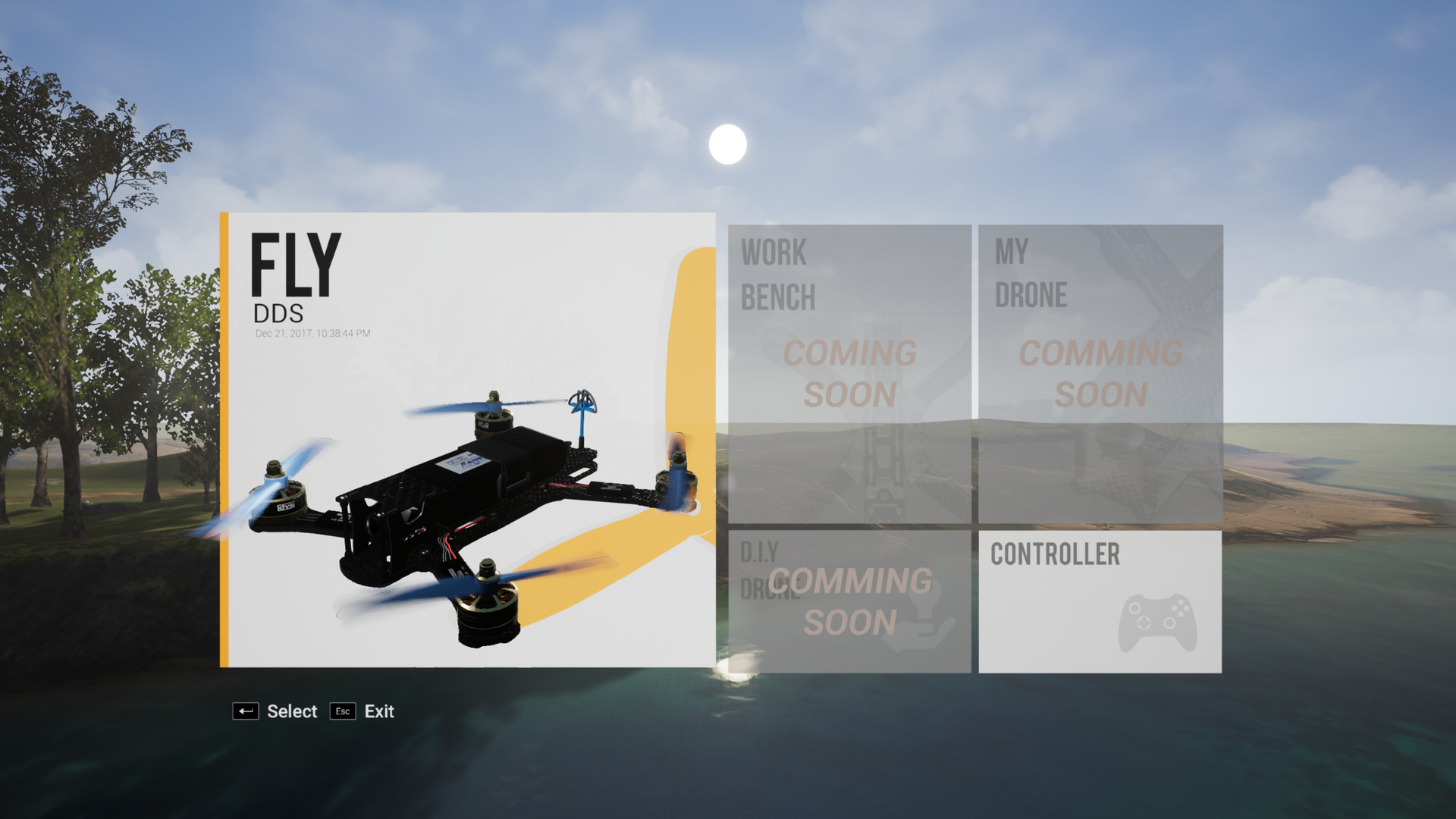 DDS (D I Y Drone Simulator) - Press Kit