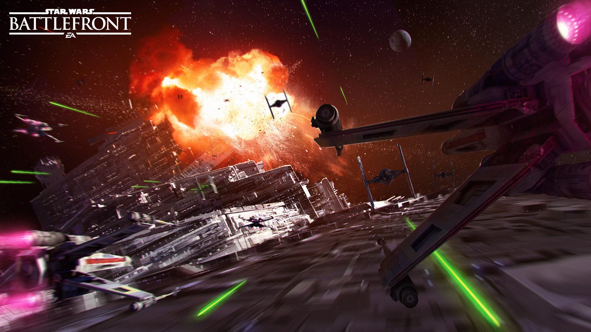 Star Wars Battlefront Death Star Press Kit