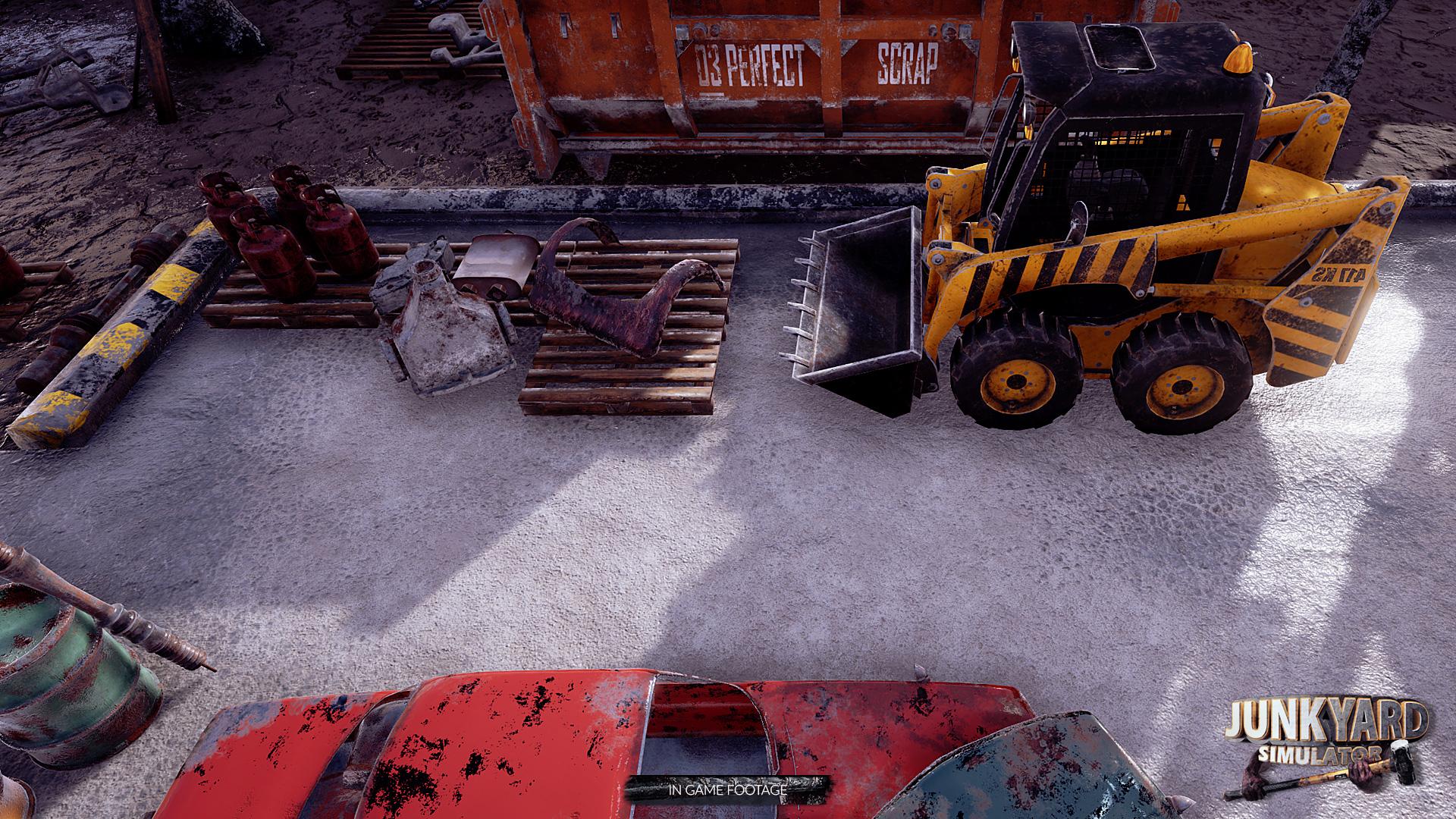 Junkyard simulator ps4