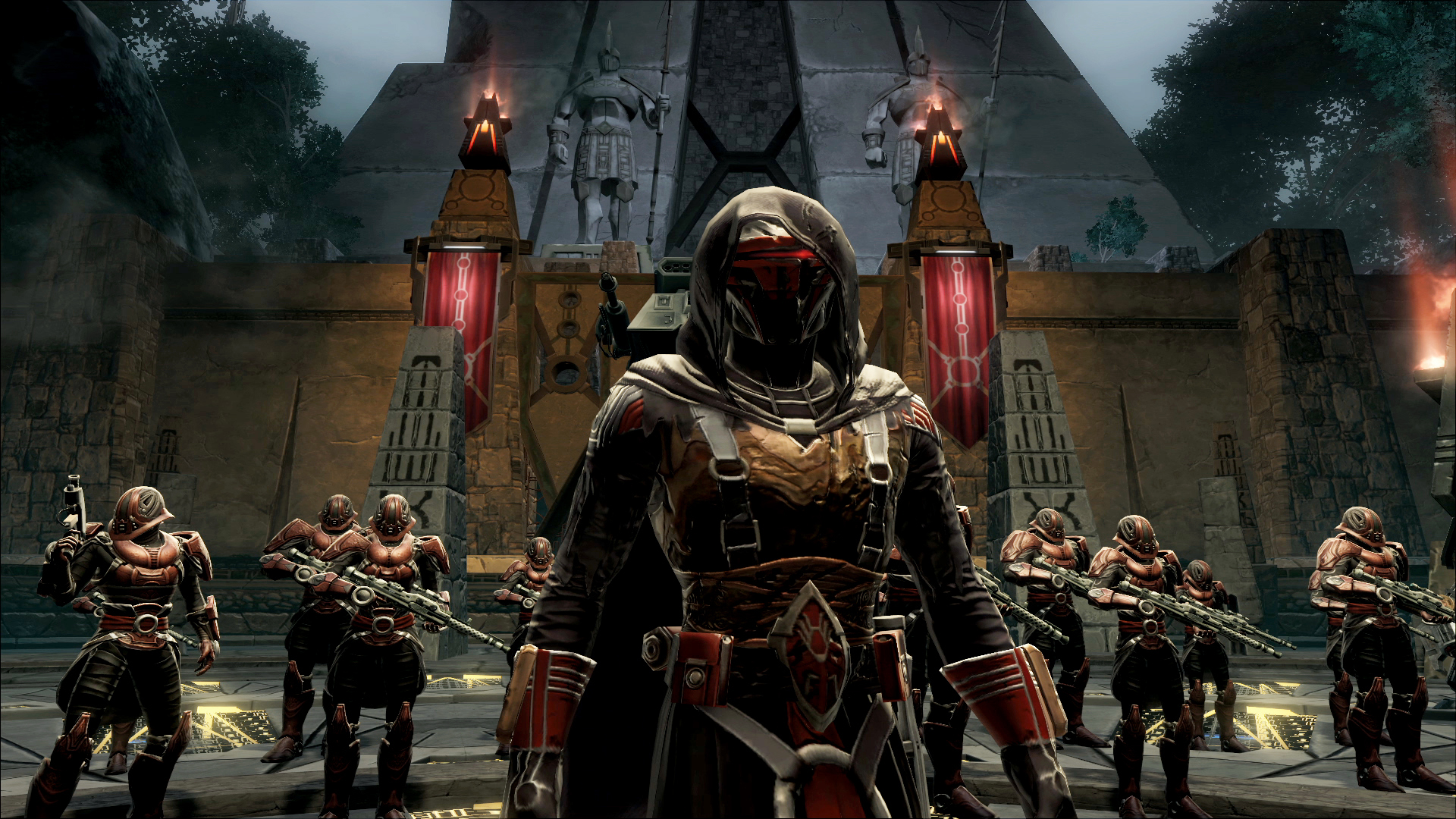 Hudson And Darrah Have Been With The Studio Since Before Its Break, Star Wars: Knights Of The Old Republic. The Spin-Off Mmorpg, The Old Republic, Continues To Thrive.