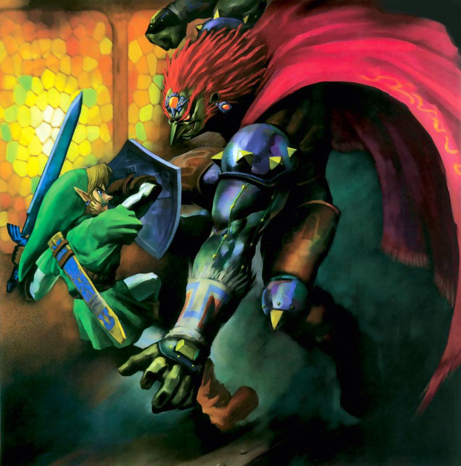 The Legend Of Zelda Ocarina Of Time 3d Press Kit