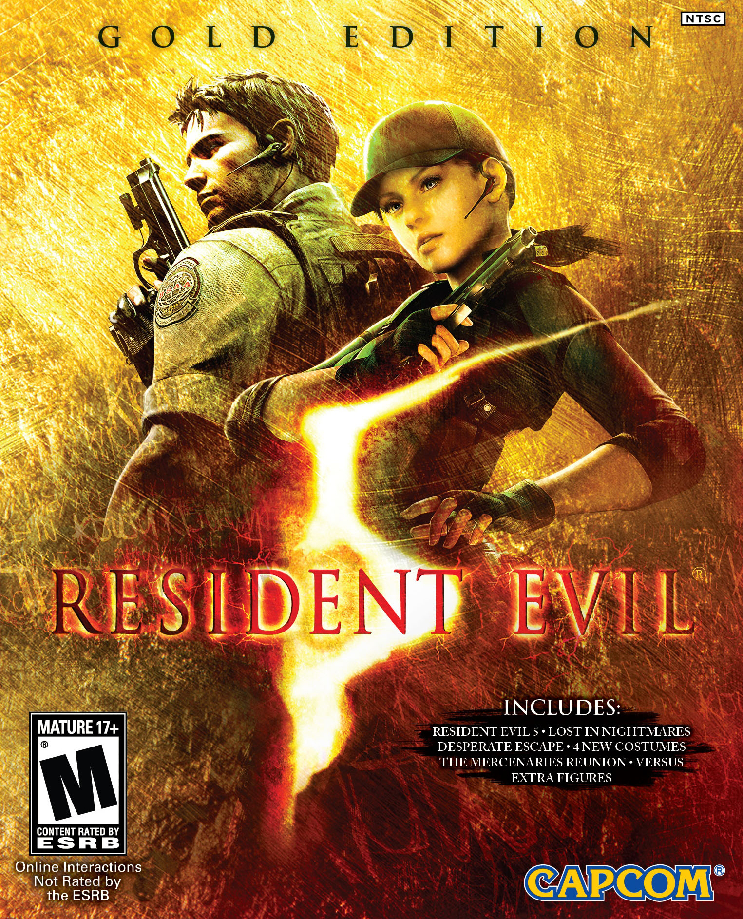 Resident Evil 5 Gold Edition 2009 Games Direct