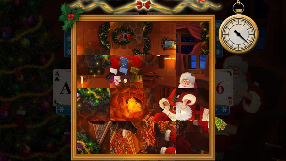 Christmas Solitaire.Santa S Christmas Solitaire Press Kit