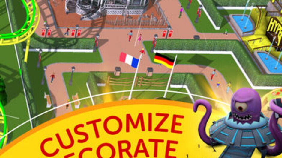 RollerCoaster Tycoon Touch - Press Kit