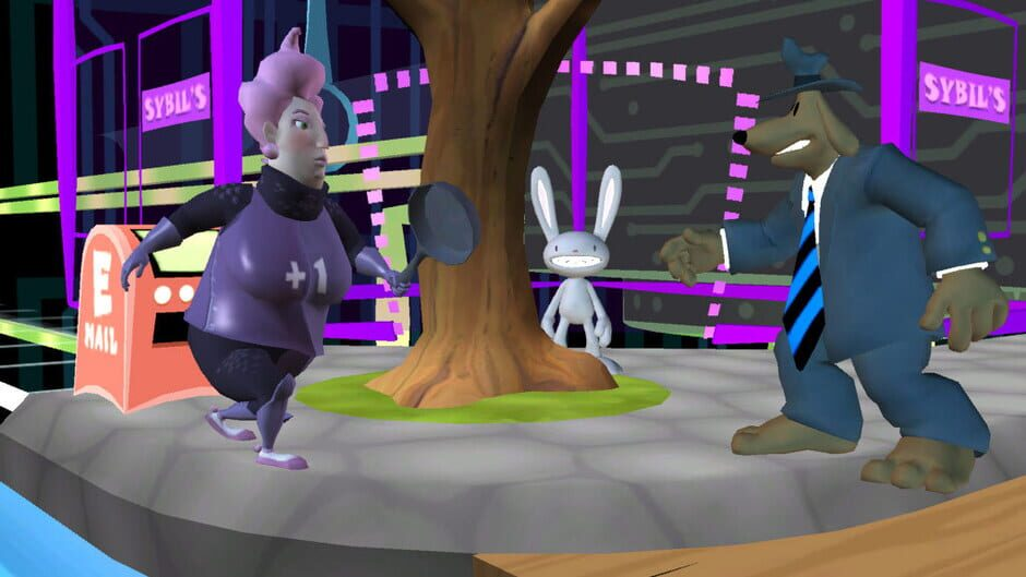 Sam  max beyond time and space (screenshots) the international house of mojo