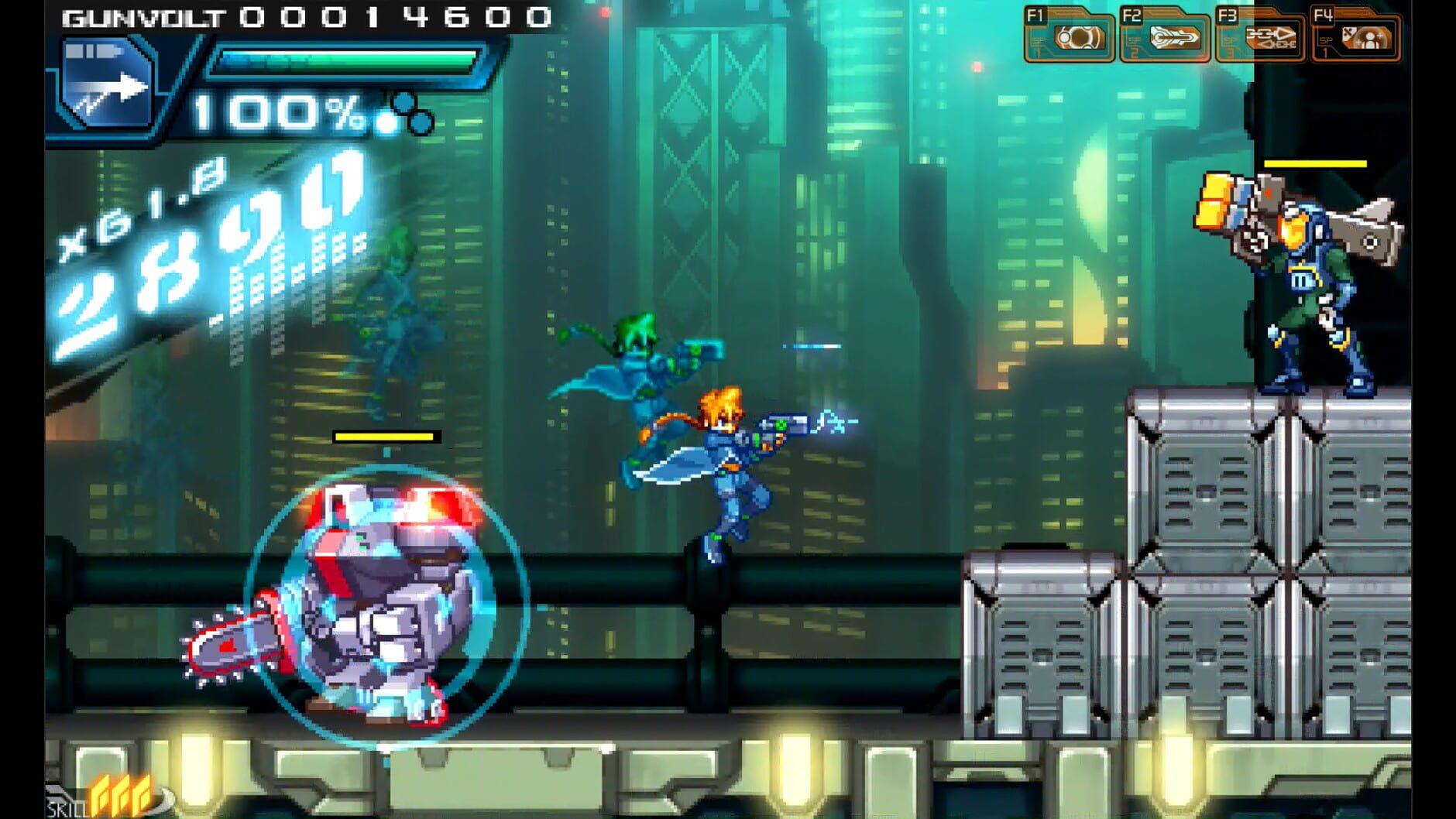 Azure Striker GUNVOLT - 0