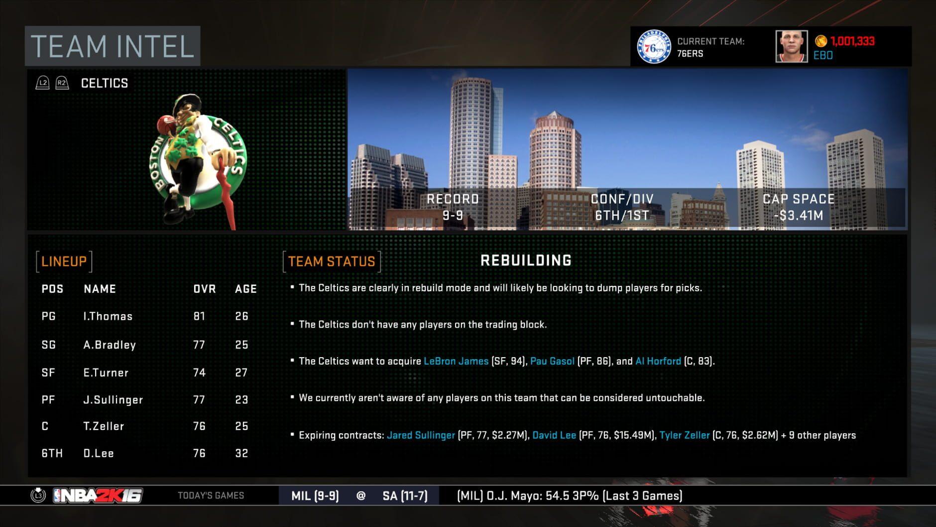 NBA 2K16 - 0