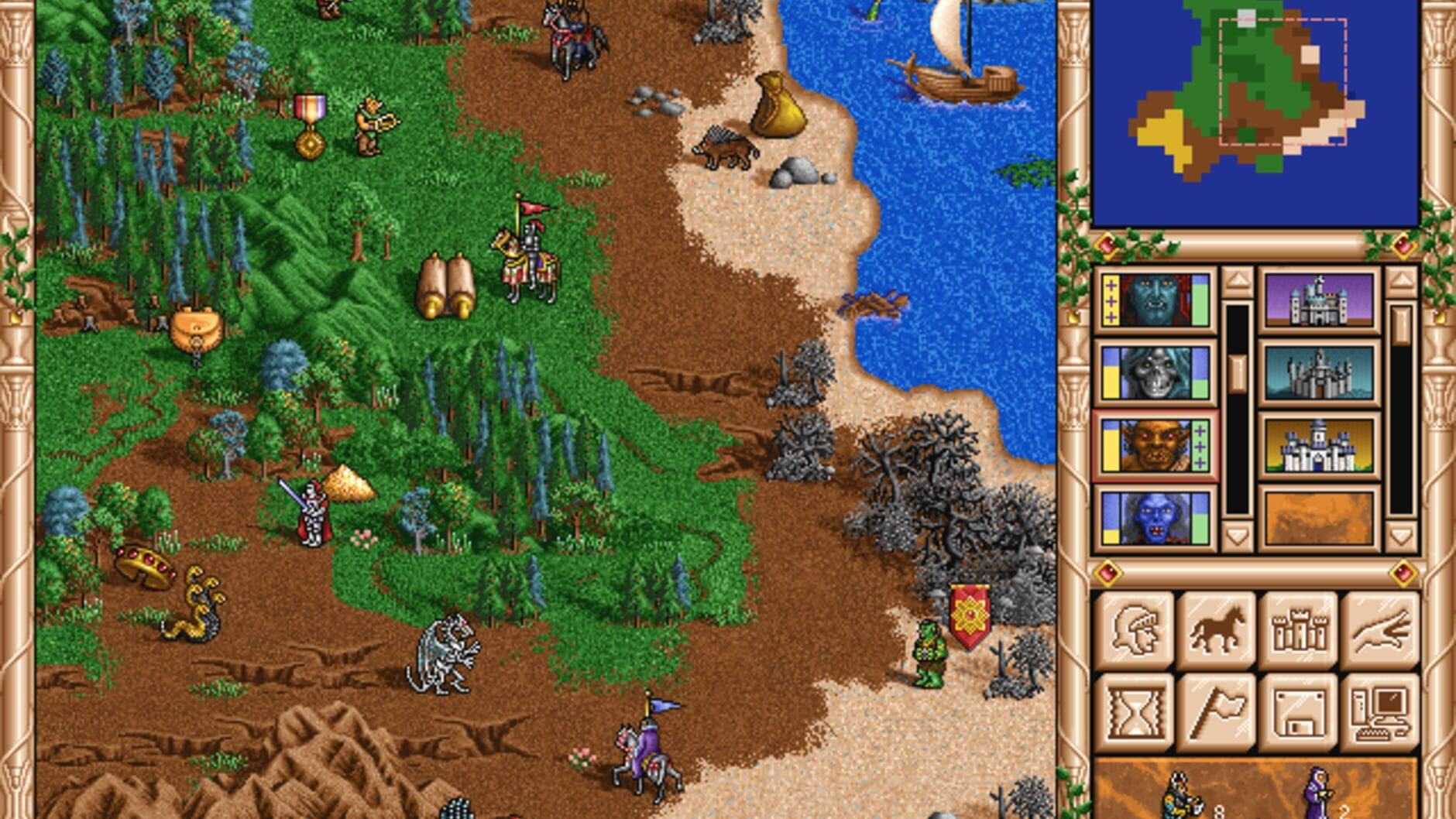 Heroes of Might and Magic II: The Succession Wars - 0