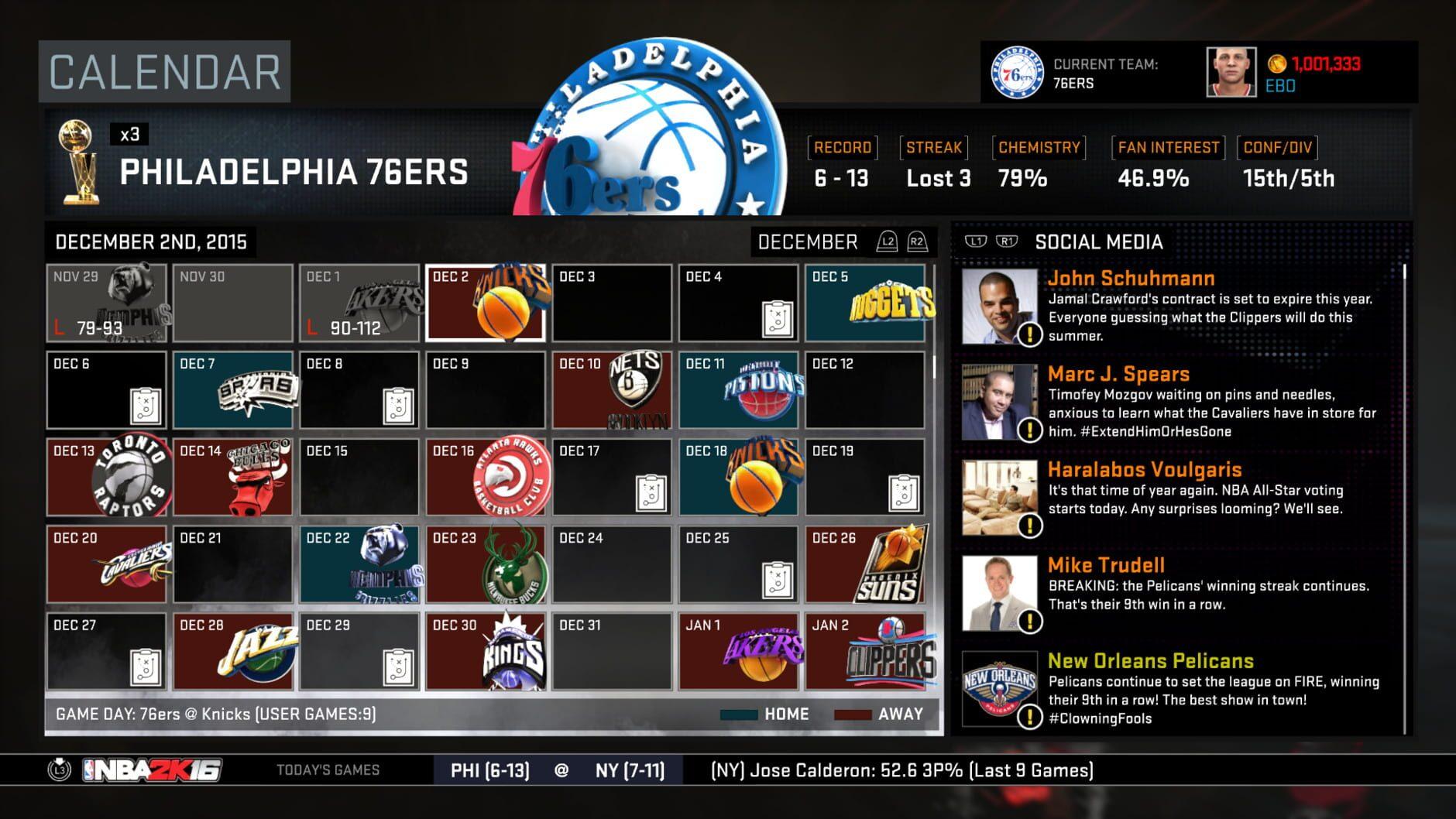 NBA 2K16 - 1