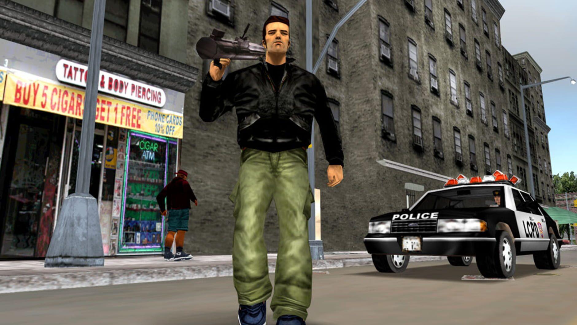 Grand Theft Auto III - 1