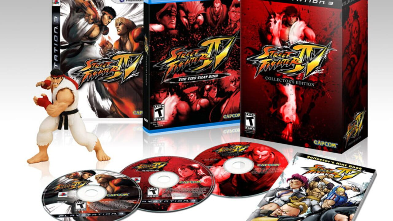 Street Fighter Iv Collector S Edition