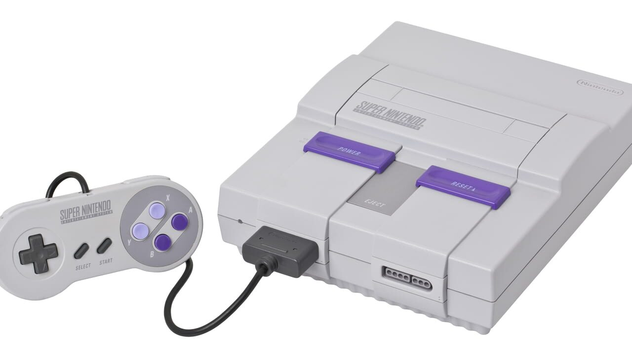 Image of Super Nintendo (original North American version)