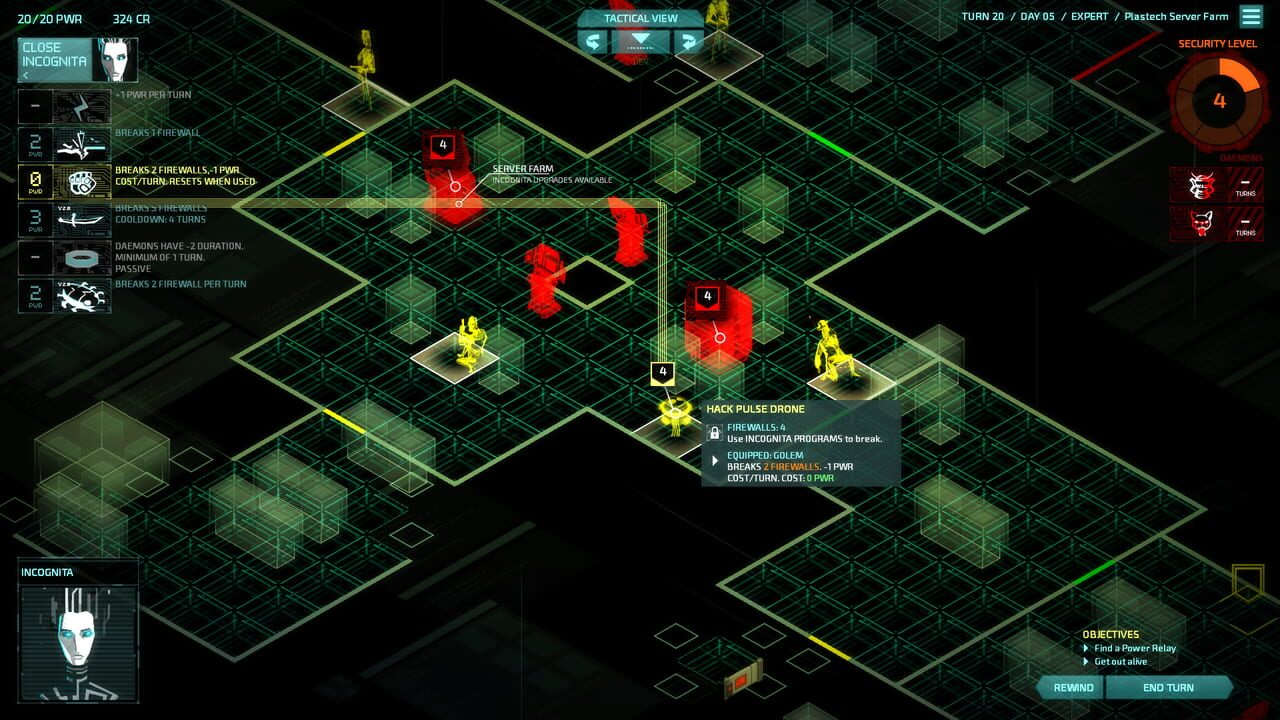 Invisible Inc.: Contingency Plan