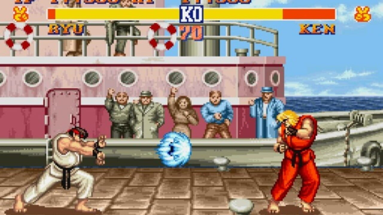 I wanna make a fighting game! - Yes, Hadouken. Yes, again.