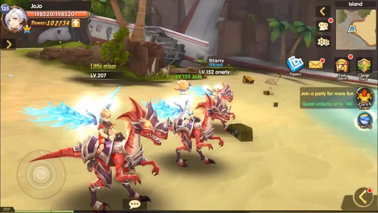 Blade and Wings: Future Fantasy 3D Anime MMORPG Game