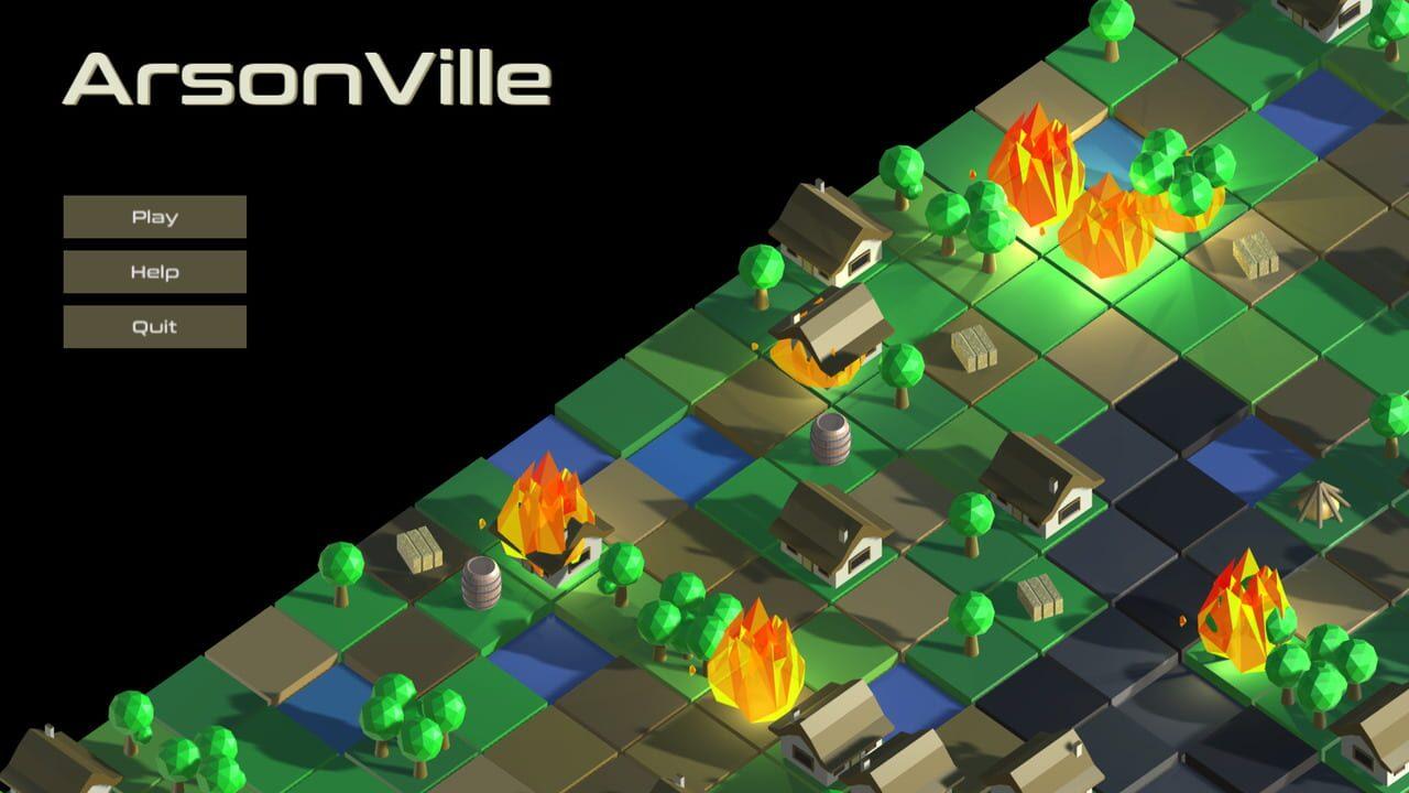 ArsonVille Cover